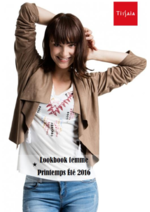Promos et remises  : Lookbook femme printemps été 2016