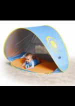 Promos et remises Autour de bébé : -20% sur la pscine-tente Anti UV LUDI