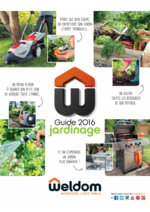 Promos et remises  : Guide jardinage 2016