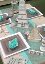 Promos et remises  : Table du mercredi : A la plage