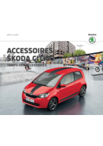 Catalogues et collections Skoda : Le tarif des accessoires Skoda Citigo
