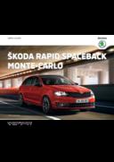 Catalogues et collections Distributeurs Skoda PARIS : La nouvelle Skoda Rapid Spaceback Monte-Carlo