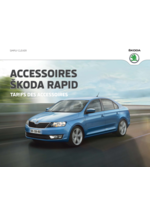 Catalogues et collections Skoda : Le tarif des accessoires Skoda Rapid