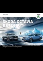 Catalogues et collections Skoda : Optez pour la Skoda Octavia RS Scout