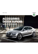 Catalogues et collections Skoda : Tarifs des accessoires Skoda Superb
