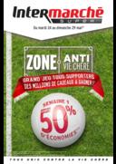 Prospectus Intermarché Super Bondy : Zone anti vie chère