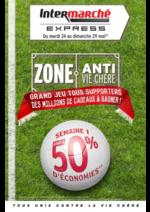 Prospectus Intermarché Express : Zone anti vie chère