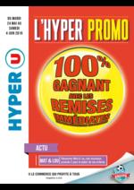 Prospectus Hyper U : 100% gagnant avec les remises immédiates sur une sélection de produits