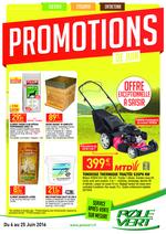 Prospectus Pôle Vert : Promotions de Juin