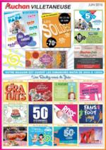 Prospectus Auchan : Les offres cartes accord du mois de juin 2016