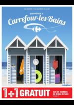 Prospectus Carrefour : Bienvenue à Carrefour-les-Bains