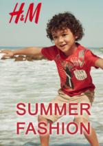 Catalogues et collections H&M : Lookbook Enfant Summer fashion