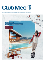 Catalogues et collections  : Brochure Sports d'Hiver 2017