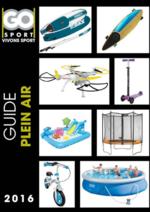 Catalogues et collections Go Sport : Guide plein air 2016