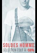 Promos et remises Bonobo Aubervilliers : Soldes homme, sélection à -50%