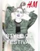 ProspectusH&M- Lookbook femme style de festival