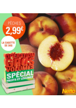 Promos et remises Netto : Opération gros volume fruits à volonté !