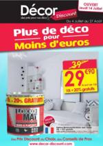 Prospectus Décor Discount : Plus de déco pour moins d'euros