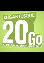Bons Plans La Poste : Le forfait 20GO à 18,99€ par mois !