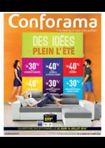 Prospectus Conforama : Des idées plein l'été II