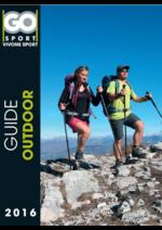 Guides et conseils Go Sport : Guide Outdoor 2016