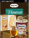 Häagen-Dazs le 3ème gratuit