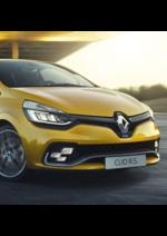 Catalogues et collections Renault : Venez découvrir la nouvelle Clio R.S