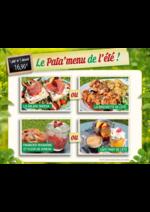 Promos et remises La Pataterie : Le Pata'menu de l'été à 16,90€
