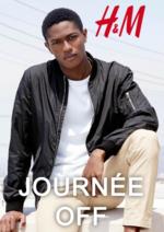 Catalogues et collections H&M : Lookbook homme Journée off
