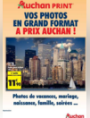 Vos photos en grand format à prix Auchan !