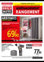 Prospectus Brico Dépôt : Aménagement rangement