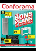 Prospectus Conforama : Les bons plans de la rentrée