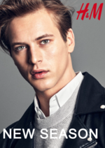 Catalogues et collections H&M : Lookbook homme New season