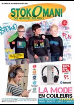 Prospectus stokomani : La mode en couleurs