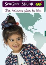 Catalogues et collections Sergent Major : Lookbook enfant: depuis le ciel