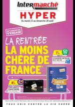 Prospectus Intermarché Hyper : La rentrée la moins chère de France