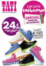 Prospectus Tati : Les prix tatissimes - Spécial rentrée des enfants