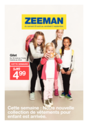 Prospectus Zeeman Mutzig : Nouvelle collection enfant