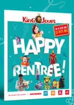 Promos et remises King Jouet : Catalogue Happy Rentrée 2016