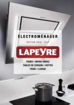 Promos et remises  : Catalogue Electroménager 2016-2017