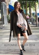 Catalogues et collections Promod : Lookbook automne hiver 2016-2017