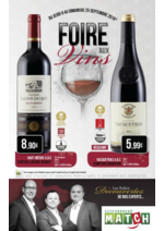 Prospectus Match : Foire aux vins