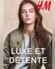 ProspectusH&M- Lookbook femme Luxe et détente