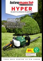 Prospectus Intermarché Hyper : Entretenez votre jardin a prix bien taillés
