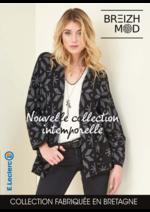 Prospectus E.Leclerc : Breizh Mode Nouvelle collection intemporelle