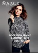 Catalogues et collections Aigle : Lookbook femme automne hiver 2016-2017