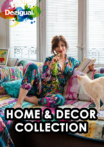 Catalogues et collections Desigual : Lookbook Home & Decor collection