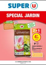 Prospectus Super U : Spécial jardin