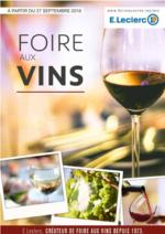 Evénements E.Leclerc : Foire aux vins