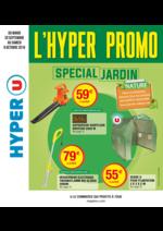 Prospectus Hyper U : L'hyper promo spécial jardin